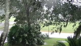 August 29, 2012  Hurricane Isaac at Maison de Toups
