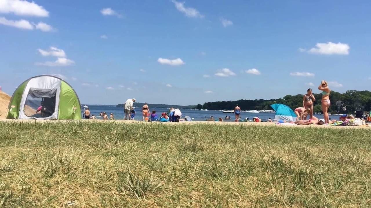 Fontana Beach In Lake Geneva Wisconsin