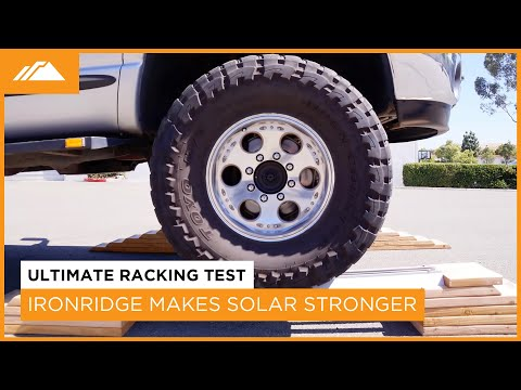 IronRidge - Make Solar Stronger