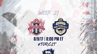 Toronto FC USL vs Charlotte Independence full match