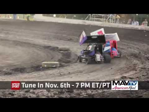 Nov 6 at 7PM on MAVTV - Micro Sprint Outlaw Nationals Broadcast - SPEED SPORT - Port City Raceway