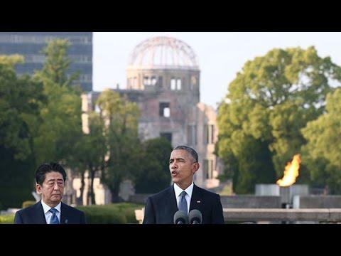 【全演説 日本語字幕】 オバマ米大統領「核廃絶めざす勇気を」  17分の広島スピーチ