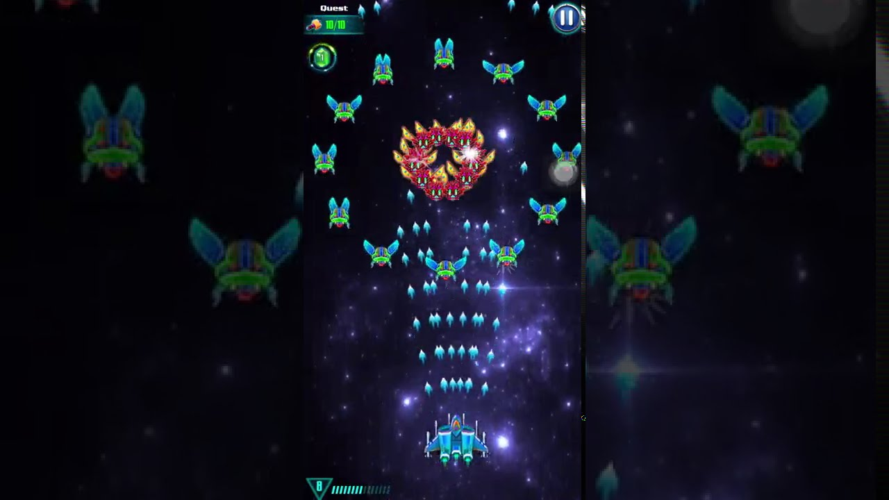 [Campaign] Level 23 GALAXY ATTACK: ALIEN SHOOTER | Best Relax Game Mobile | Arcade Space Shoot