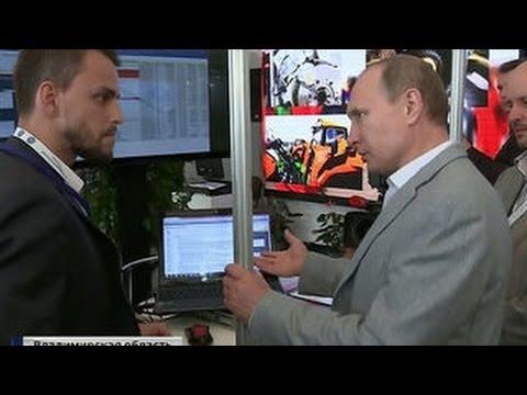 На Клязьме Путину показали софт и железо