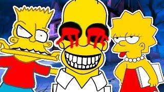 НУ ОЧЕНЬ ЖУТКИЕ СИМПСОНЫ ! - Simpsons Hit And Run Прохождение #13