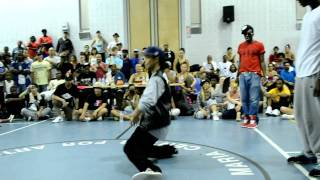 Step Ya Game Up 2011 Top 16 Popping: Greentek Vs Showtyme
