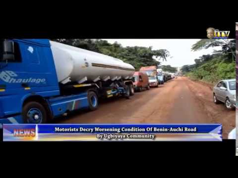 Motorists decry worsening condition of Benin-Auchi Road by Ugbiyaya