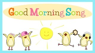 Good Morning Song for Kids with lyrics  The Singing Walrus