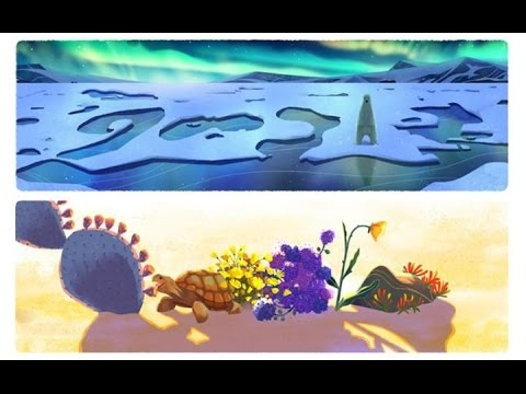 Google Earth Day Doodle 2016 : Sophie Diao shares some of her thoughts on the day and the paintings