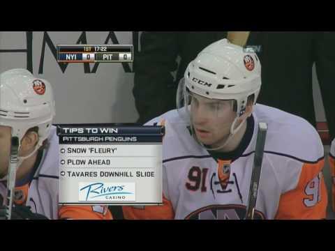 NHL New York Islanders vs Pittsburgh Penguins, February 10, 2010