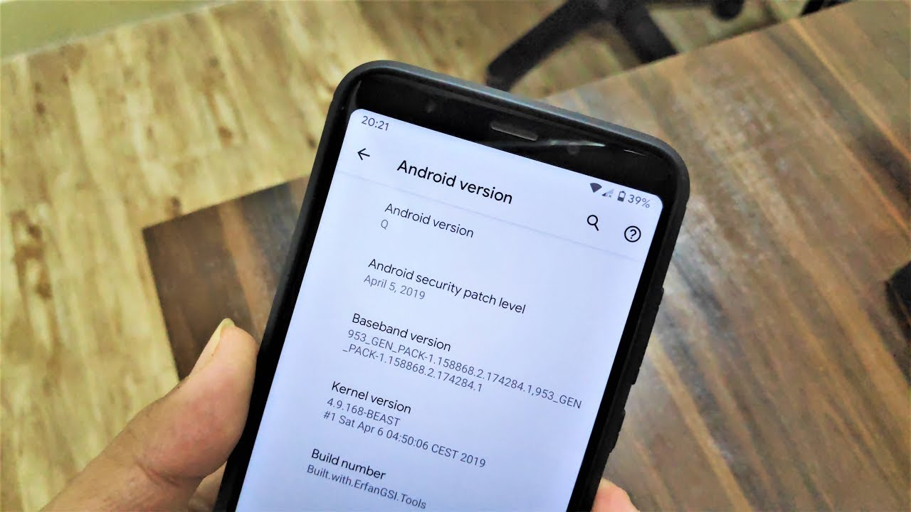 Install Android Q DP2 On Redmi Note 5/Redmi 5 Plus! [Pixel GSI] by  Quazwersxce X