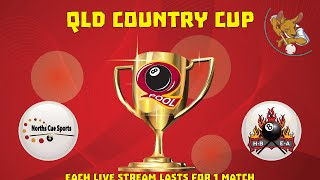 2016 Qld Cup - Country 8 Ball Teams - Norths v Hervey Bay