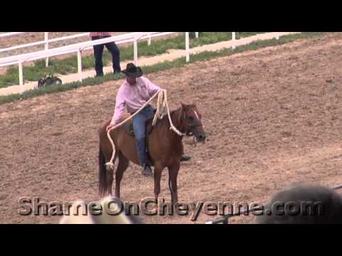 Horse Abuse at 2012 Cheyenne Rodeo