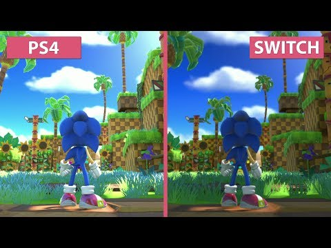 Sonic Forces – PS4 vs. Switch Frame Rate & Graphics Comparison