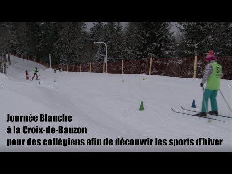 Journée Blanche Croix de Bauzon - JANVIER 2019