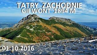 TATRY ZACHODNIE - Giewont 1894 M 01102016
