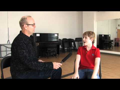 Joseph Harrington from Billy Elliot Interview with Brian Douglas