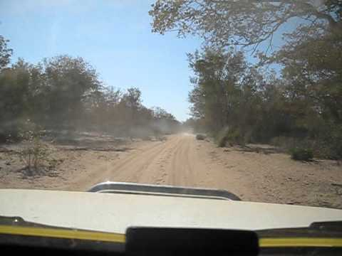 Driving in Mozambique after Limpopo crossing