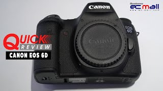 Quick Review : Canon EOS 6D