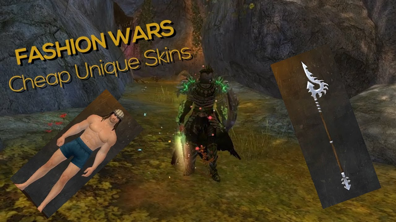 Guild Wars 2 - Cheap Weapon Skins | Fashion Wars