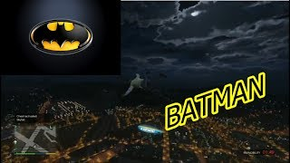 HOW TO GLIDE LIKE BATMAN!!!!