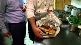 Goldbrasse (Dorade) in Alufolie - La Rosa - Ristorante, Pizzeria