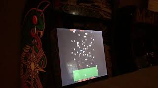 Arcade1up deluxe centipede/millipede gameplay!