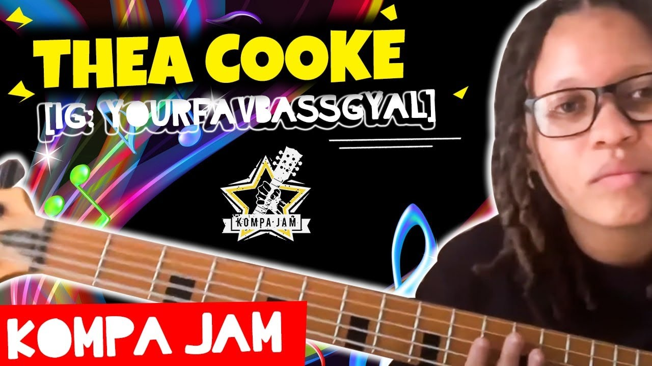 #KOMPA #BASS #COVER #JAM | By:Thea Cooke [IG: yourfavbassgyal]