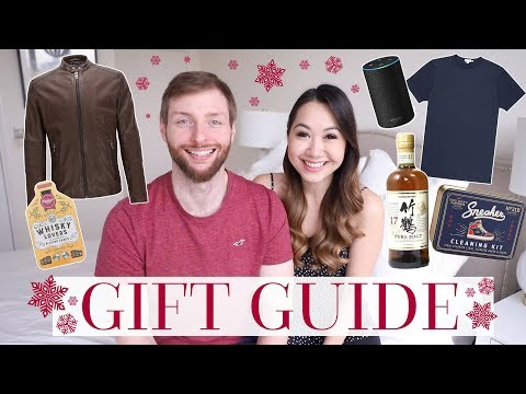 GIFT GUIDE FOR HIM! | MEN'S GIFT IDEAS AT ALL PRICE POINTS