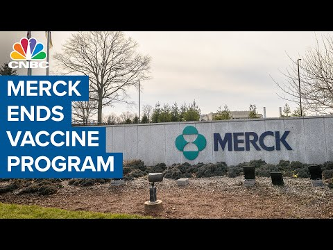 Merck ends Covid vaccine program but continues to work on treatments