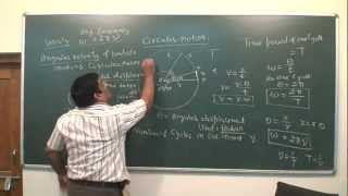 XI 34 Circular Motion  basics