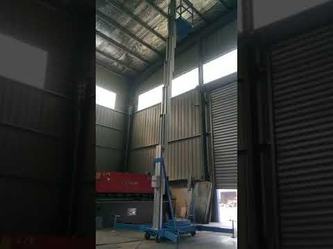 10m single post lift