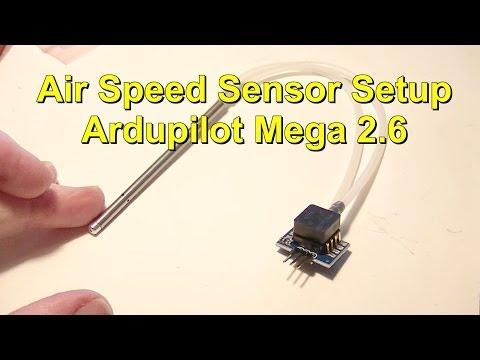 Tubo de Pitot Ardupilot para APM 2.5 2.6 2.8 Sensor de velocidad arduplane