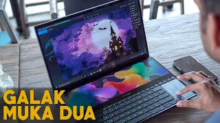 ASUS ZENBOOK PRO DUO (UX581G) REVIEW INDONESIA