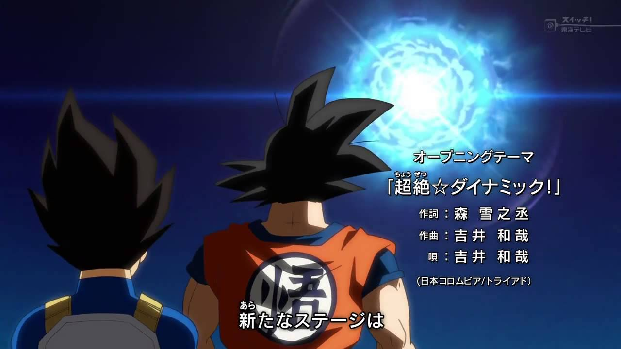 Dragon Ball Super Opening HD + MP3 Download