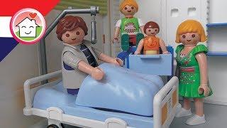 Playmobil filmpje Nederlands Papa in het ziekenhuis - Familie Huizer