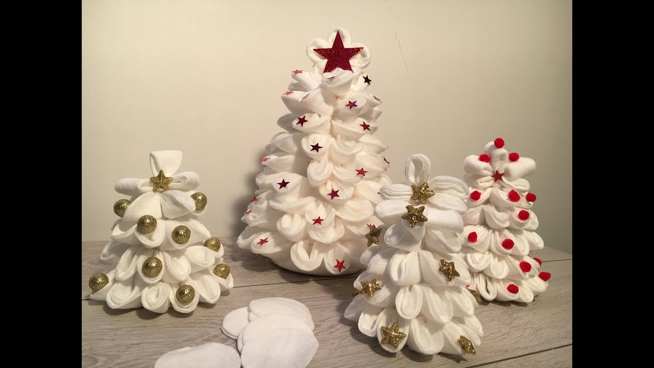 Diy How to make 3 Christmas decorations with make up