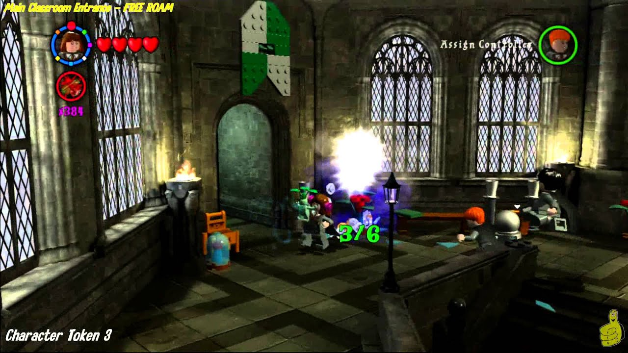 Lego Harry Potter Years 1 4 Potions Classroom And More Free Roam