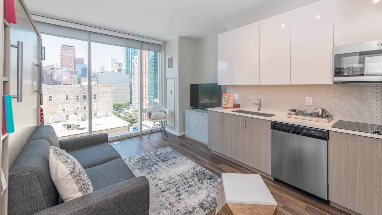 A North Facing Studio Apartment At The South Loop S New Eleven40