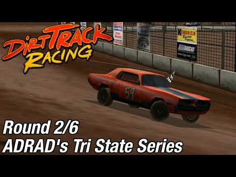 Dirt Track Racing (PC) - ADRAD's Tri State Series @ Manzanita Speedway [Rd 2/6]