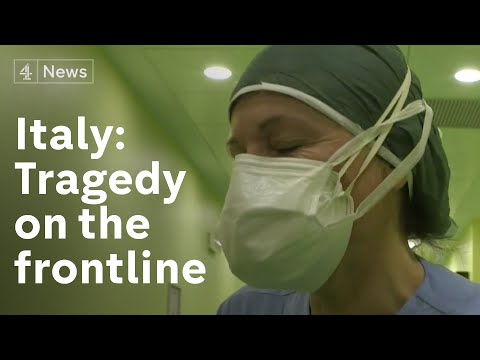 'You start with such high hopes': Inside Italy hospital at epicentre of virus outbreak