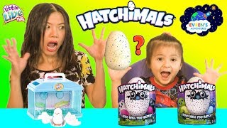 HATCHIMALS SURPRISE EGGS OPENING Amazing Magical Animals Hatching Egg Little Live Pets ToysReview