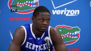 Kentucky Wildcats TV: Julius Randle and Dakari Johnson Florida Postgame