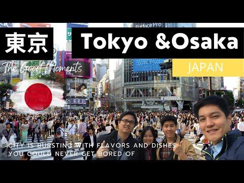 2017 Tokyo & Osaka, Japan: An Unforgettable Journey Series