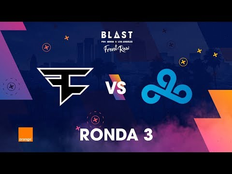 C9 vs FaZe - BLAST Pro Series Los Angeles 2019 - Bo1