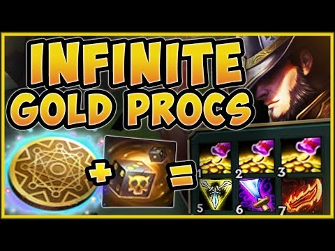 WTF? GOLD GENERATOR TRIFORCE TF IS 100% STUPID! MAX GOLD TWISTED FATE TOP GAMEPLAY League Of Legends