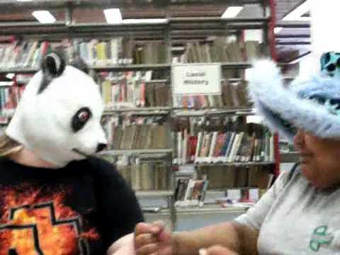 Licking Feet and Talking to Pandas???