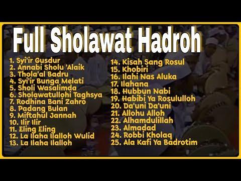 Sholawat Hadroh Terbaik Kumpulan Sholawat Nabi Pilihan