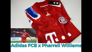 FC Bayern Munich X HUMAN RACE JERSEY | UNPACKING | fashion & sports clothing | Pharrell Williams