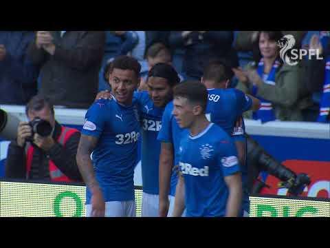 Watch Alfredo Morelos score a double for Rangers